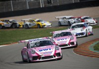 """Pink Panther"" Duo wieder in Front © Porsche AG"