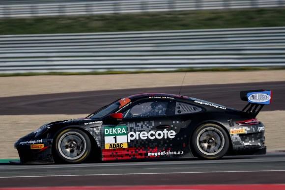 Gelungener Saisonauftakt für Thomas Preining/Robert Renauer © ADAC Motorsport