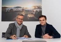 Jens Marquardt und Lucas Auer © BMW Group - Martin Hangen/hangenfoto