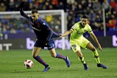 Леванте бара Барселона да биде исфрлена од Купот