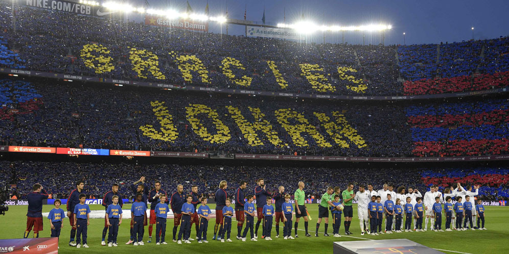 Barcelona real madrid mosaic