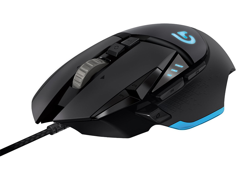 Logitech Tunable Gaming Mouse with Fully Customization Surface