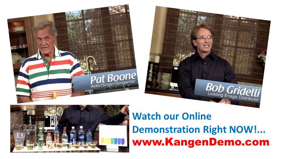 SD501 Kangen Water Demonstration