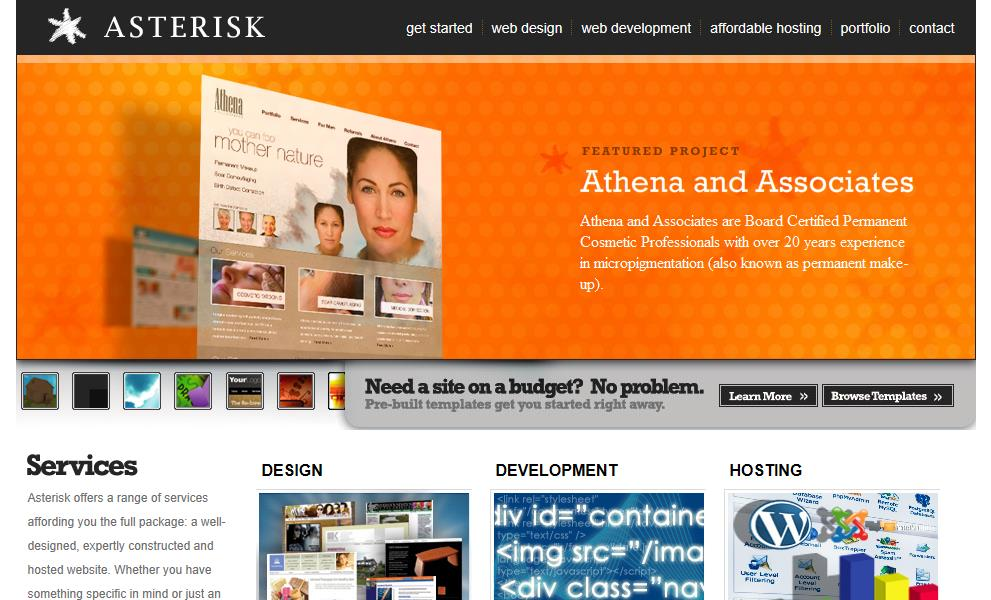 Asterisk Web Design Reviews