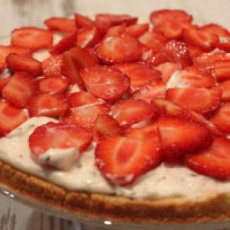 Tarte aux fraises et basilic de Timandra