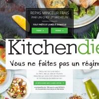 Rééquilibrer son alimentation grâce à Kitchen Diet et ses repas minceurs livrés à domicile [code promo]