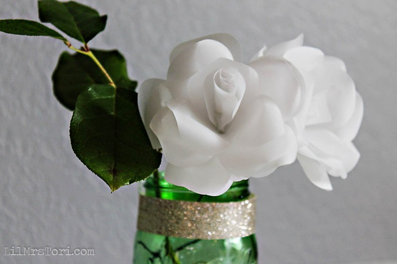 Make your own paper roses | Lil Mrs. Tori