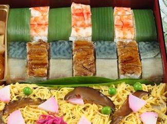 とり松の押し寿司イメージ