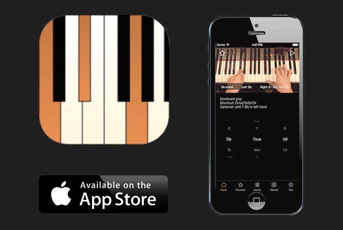 NEW APP FOR IPHONE:  JAZZCHORDS