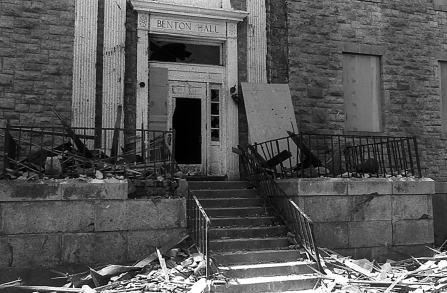Washburn University Damage