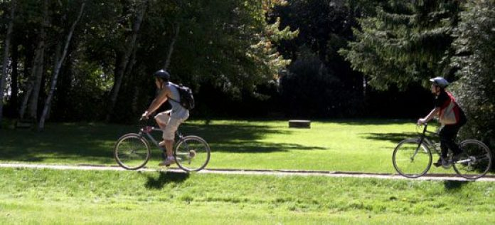 Guildwood Park contains paved and gravel trails that are ideal for strollers and bikers.