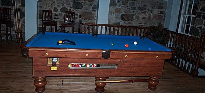 The Olde Stone Cottage also has a pool room, which has two pool tables that pub patrons can play for $1.50 a game.