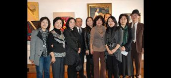 Twelve Korean artists - Jennica Kim, Hee ja Kim, C.C. Yun, Kwangeui Chang, Eunah Cho, Insoon Hyun, Joonghyung Cho Yookyung Cha, Youngsun Lee, and Bok Yun Kim, pictured above, along with Joo Hee Chang and Seung Yun Im - showcase their work, which includes acrylics, watercolours, ceramics and mixed media. The Twelve Artists exhibition runs Dec. 6-18 at Cedar Ridge Gallery.