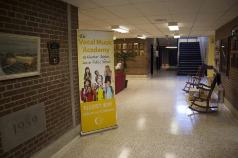 Heather Heights Junior Public School is welcoming Grade 4-6 students for its vocal music academy program.