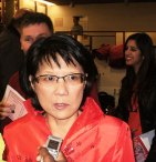 MP Olivia Chow speaks about the event.