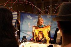 Silk scarf artist