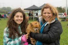 Christina and Demetra Patsis entered their dog Zena in to the competition for cutest small dog.
