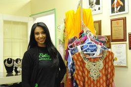 Reshmi Chetram, founder of BollyFuze at the Tarana Dance Centre.