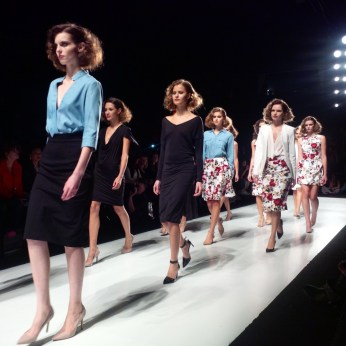 The finale at the Rachel Sin show.