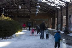 Young skaters get in some practice.