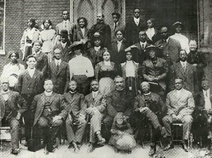 Members of Toronto's Grant African Methodist Episcopal Church in the 1890s