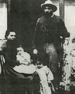 John Ware (Texas Cowboy) and his pioneering family in Alberta