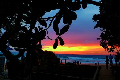 Unbelievable Sunset in Phuket Thailand