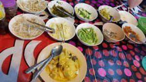 Tasty Thai Food Phuket Thailand Night Market