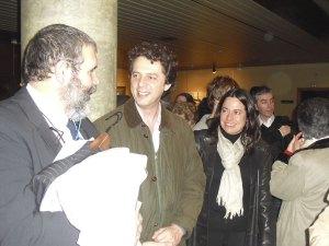 Los orgullosos padres de Rodrigo Laorden, uno de los músicos