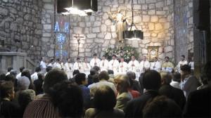Primera Misa de D. Enrique Pérez Bañón en la Asunción de Torrelodones