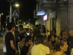 Cañas Solidarias en el Café del Atril
