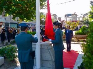 Izado Bandera en Galapagar (12-10-2010)