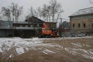 Obras adecuación aparcamiento frente a Estación Torrelodones de Renfe
