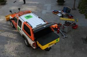 Presentación nuevo vehículo para emergencias de Protección Civil