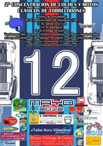 2ª Concentracion de coches y motos clásicos de Torrelodones