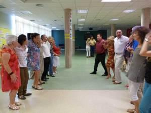 Baile en la Clausura de los Talleres para mayores de Torrelodones
