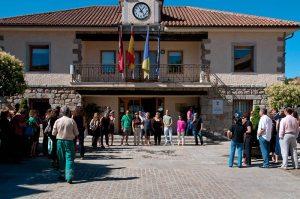 Concentración Trabajadores Municipales Torrelodones 13-07-2012