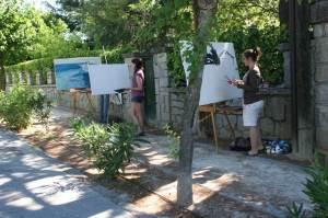 Entrega de Premios de XIII Certamen de Pintura en Directo Rafael Botí - Torrelodones 2012