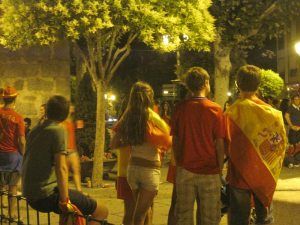 Torrelodones celebró la Eurocopa 2012