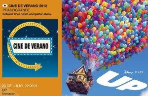 """""""Up"""",   Cine de verano en Pradogrande, Torrelodones"""