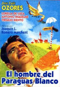 El hombre del paraguas blanco - Joaquín Romero Marchent