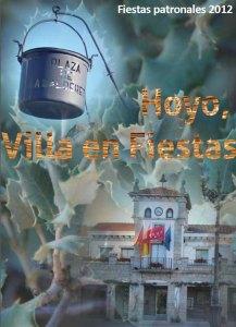 Cartel de las Fiestas de Hoyo de Manzanares 2012