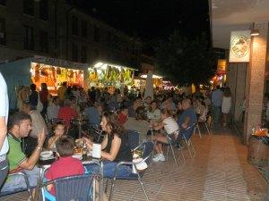 Calle Real durante las  Fiestas de la Asunción 2012 en Torrelodones