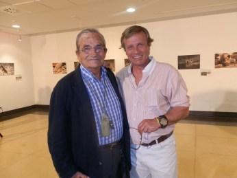 Javier Sánchez-Rubio Llamas y su padre