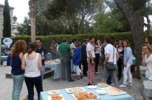 Al finalizar la jornada, docentes y directivos visitantes disfrutaron de un aperitivo junto a los colegas del colegio anfitrión