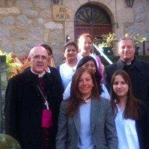 """D. Carlos Osoro visitó la residencia parroquial de mayores """"Santa María de los Ángeles"""""""