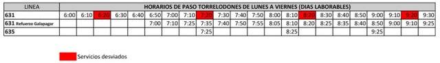 horarios-de-paso-631-torrelodones