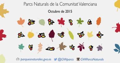 Disfruta del puente del 9 de Octubre en uno de los parques naturales de la Comunitat Valenciana