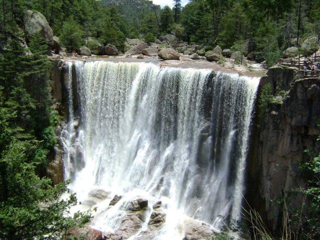 Cusarare waterfall