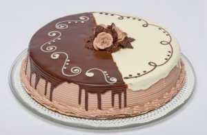 Pasteles decorados con chocolate (11)